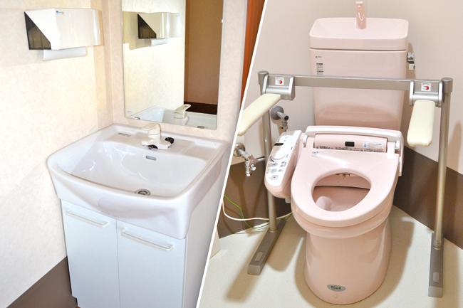 居室トイレ・洗面台